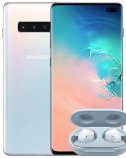 Samsung Galaxy S10 Plus 128GB (Prism White, 8GB RAM)