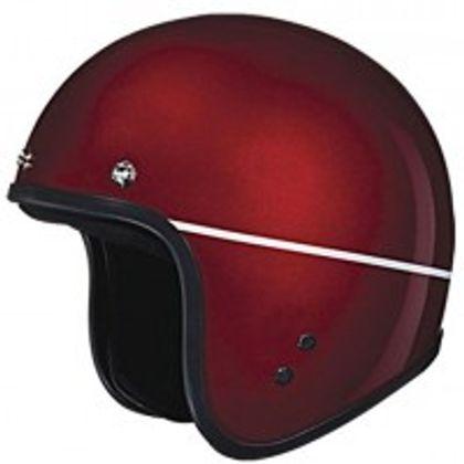 Studds - Open Face Helmet - Jetstar (Cherry Red) [Large - 58 cms] Front View