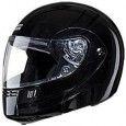 Studds - Full Face Helmet - Ninja 3G FlipUp (Black) [Size : 58-60 cms]