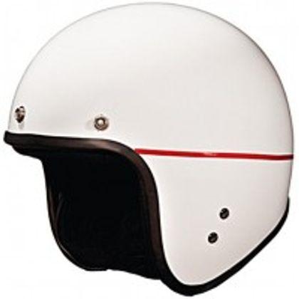 Studds - Open Face Helmet - Jetstar (White) [Large - 58 cms] Front View