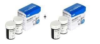 100(50x2) Test Strips For GluNeo Lite Blood Glucose ExpiryApril 2019