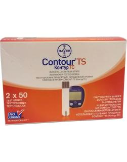 Bayer Contour TS 100 Test Strips