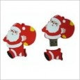 Smiledrive Santa Claus Shaped USB 16 जीबी Fancy Pendrive (Multicolor)
