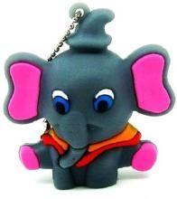 Pankreeti PKT 568 Elephant Ganesha Cartoon Designer 8 GB Pen Drive(Multicolor)