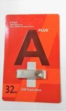 Mmc A+ 32 32 GB Pen Drive(Silver)