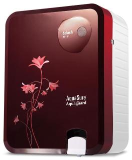 Eureka Forbes Aquasure from Aquaguard Splash 6 L RO+UV+MTDS Water Purifier (Burgundy)