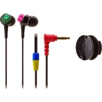 Audio Technica ATH-CKL203 BCZ In-the-ear Headphone (Black Crazy, In the Ear)