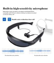 Polarized Glasses Sunglasses Stereo Music Wireless Outdoor Sport Headset Earphone