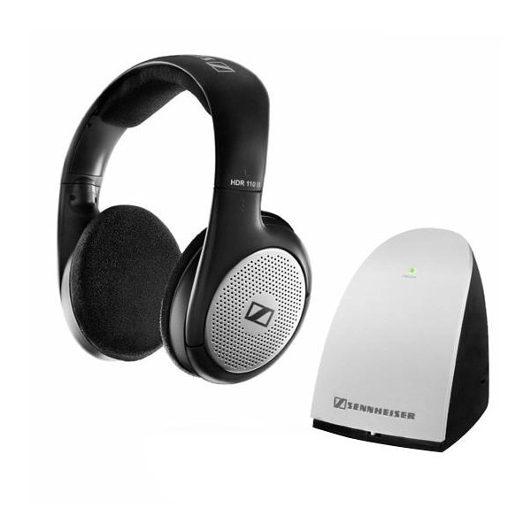 03176dd8402 Sennheiser RS 110 II Wireless Over Ear Headphone (Black) Price in India  with Offers & Full Specifications | PriceDekho.com