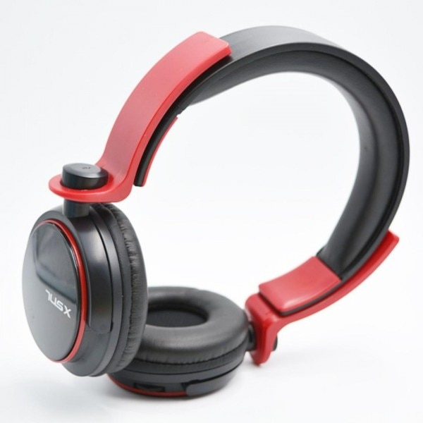 Red bluetooth earphones - earbuds wired bluetooth