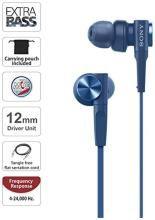 Sony XB55AP EXTRA BASS In-Ear Headphones (Blue)