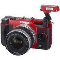 Pentax Q10 5-15 SLR Camera (Red)