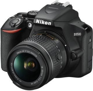 Nikon D3500 DSLR Camera Body with Dual lens: 18-55 mm f/3.5-5.6 G VR and AF-P DX Nikkor 70-300 mm f/4.5-6.3G ED VR(Black)