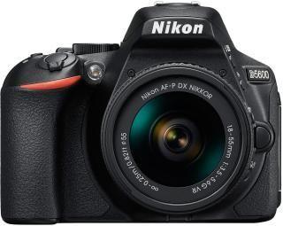 Nikon D5600 DSLR Camera AF-P DX Nikkor 18 - 55mm Black