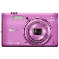 Nikon Coolpix S5300 Point & Shoot Camera Pink