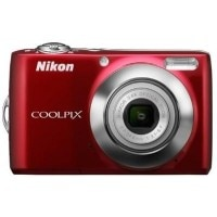 Nikon Coolpix L24 Point & Shoot Red