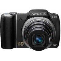 Olympus SZ-14 Point & Shoot Digital Camera Black