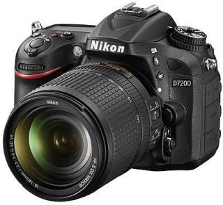 Nikon D7200 18-105 VR Black