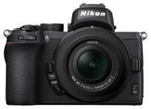 Nikon Z50 Kit (Z DX 16-50mm f/3.5-6.3 VR) 20.9 MP Mirrorless Camera (Black)