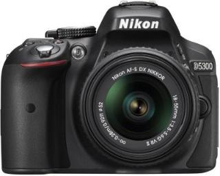 Nikon D5300 DSLR Camera Body AF-P DX Nikkor 18-55 mm VR Black