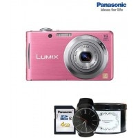 Panasonic Lumix DMC-FH5 Digital Camera Pink