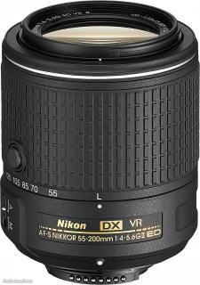 Nikon Digital SLR Camera D5500 AF-P 18-55mm VR and AF-S DX 55-200mm VR II Lens Black