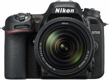 Nikon D7500 DSLR Camera Body with 18-140 mm Lens(Black)