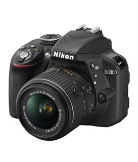 Nikon D3300 DSLR Camera D-ZOOM Black