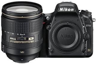 Nikon D750 DSLR Camera Body with Single Lens: 24-120mm VR Lens(Black)