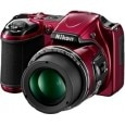 Nikon Coolpix L820 Point & Shoot Digital Camera Red