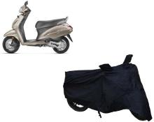 AUTO AGE Two Wheeler Cover for Honda(Activa, Black)