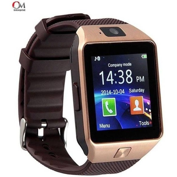 Om Enterprise WS02 Smartwatch Brown Price in India with Offers   Full  Specifications  e485ad82486a