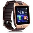 HealthMax DZ09-11 Bluetooth Smartwatch Brown