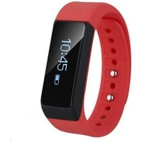 Smiledrive Fitness Activity Tracker Smartwatch Red