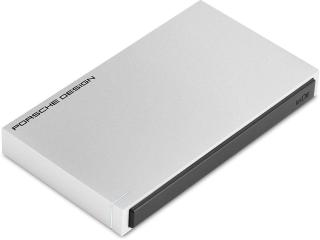 Lacie Porsche Design 2TB USB 3.0 Portable 2.5-inch External Hard Drive (Light Grey)