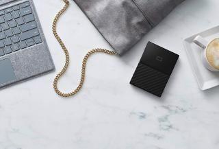 WD My Passport 3TB Portable External Hard Drive (Black)