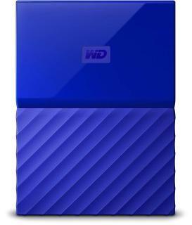 WD My Passport 1TB Portable External Hard Drive (Blue)
