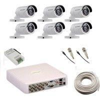 Hikvision Security Cameras Price List in India on 12 Dec