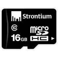 Strontium Micro SDHC Card 16 जीबी Class 10
