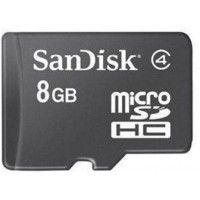 SanDisk 8GB MicroSD Memory Card (Class4)