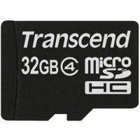 Transcend MicroSD Card 32GB Class 4