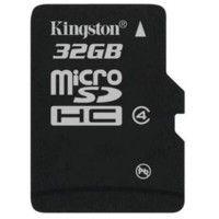 Kingston MicroSD Card 32 जीबी 4 MB/s Class 4