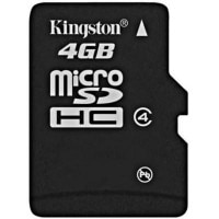 Kingston MicroSD Card 4 जीबी 4 MB/s Class 4