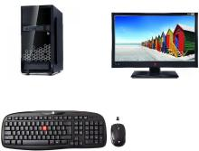 iball Core i3 (8 GB DDR4/1 TB/Windows 10 Home/18.5 Inch Screen)(Black)