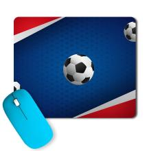 PosterGully - Football Love Artwork footballfan Mousepad