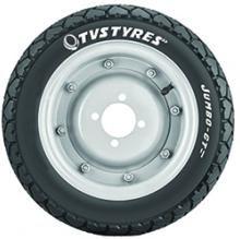 TVS Tyres 3SCO50992JG011 90/90-12 JUMBO GT Front & Rear Tyre(Street, Tube Less)
