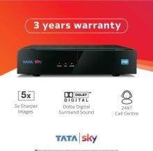 Tata Sky HD Box with One Month Telugu Basic Pack