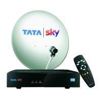 TATASKY DTH-0001 HD Set Top Box (White and Black)