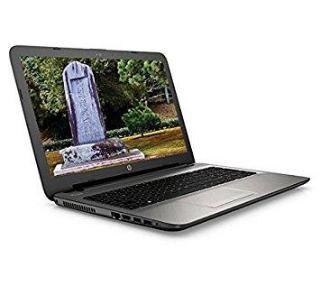 HP 15-ac083TX 15 6-inch Laptop (Core i3 5010U/4जीबी/1TB/DOS/AMD Radeon R5  Series M330 2 जीबी Graphics), Turbo Silver