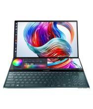 ASUS Zenbook Duo (Intel Core i7 10th Gen/16GB RAM/1TB SSD/Windows 10/MX250 2GB GDDR5 /Celestial Blue/1.50 Kg/14' FHD IPS/ScreenPad Plus) UX481FL-B7611T